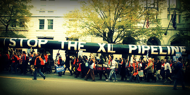 No-KXL-Pipeline-protest1